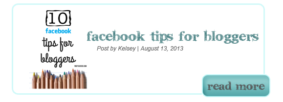 10 Facebook Tips for Bloggers