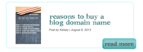 Buying a Domain Name for your Blog