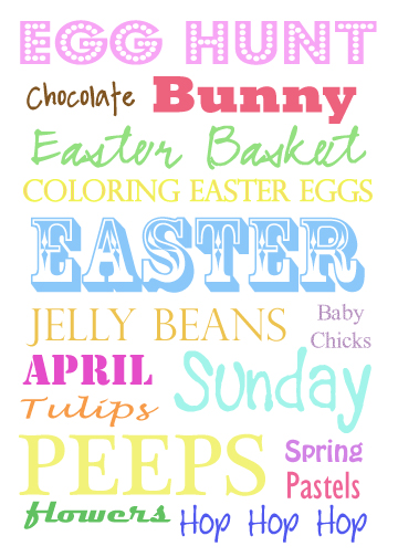 image regarding Happy Easter Sign Printable called Craftionary